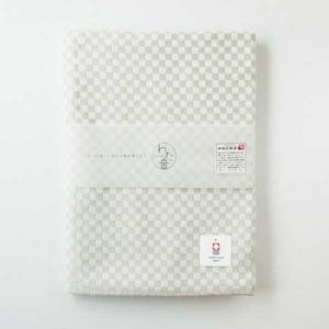 わた音カラー しゅす織り バスタオル/灰色  1-61157-11-GY