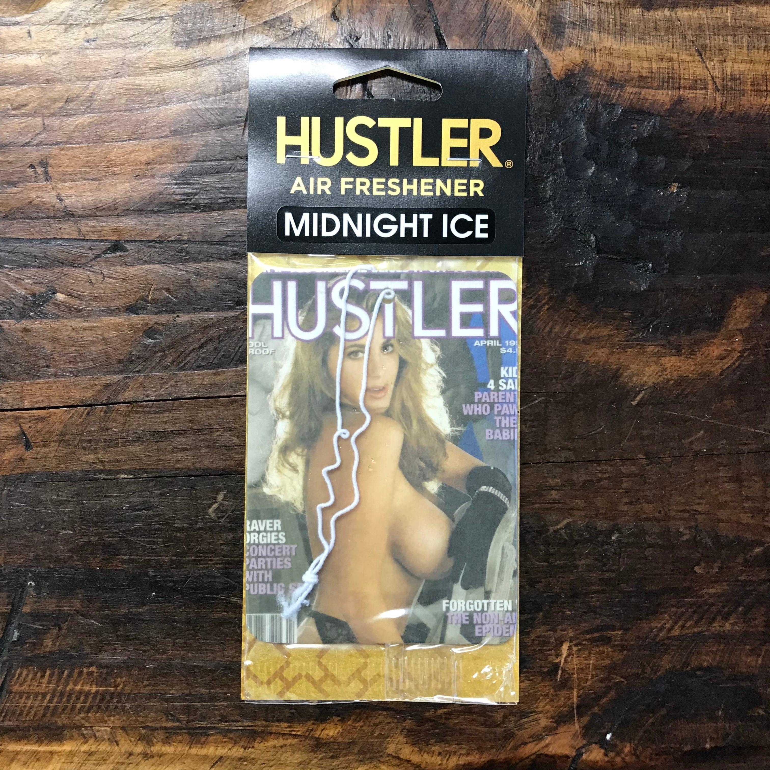 HUSTLER・セクシーガールエアフレッシュナー・ミッドナイトアイス(ブラックアイス風)・1994-04
