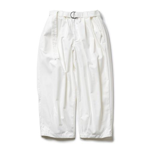 TIGHTBOOTH BAGGY SLACKS WHITE
