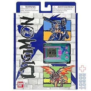 ●バンダイ US版 デジモンX デジタルモンスター グリーン & ブルー