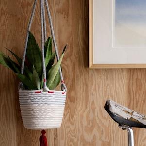 Cotton Hanging Basket
