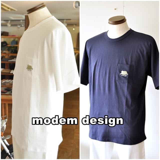 modemdesign  モデムデザイン 半袖カットソー Tシャツ 2101251  メンズ