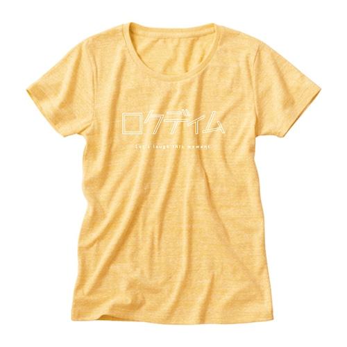 ロゴTシャツ:カタカナ|黄