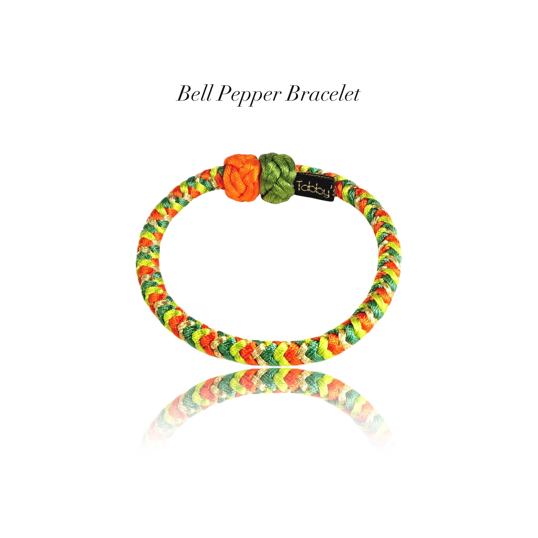 【アクセサリ】Bell Pepper 組紐ブレスレット
