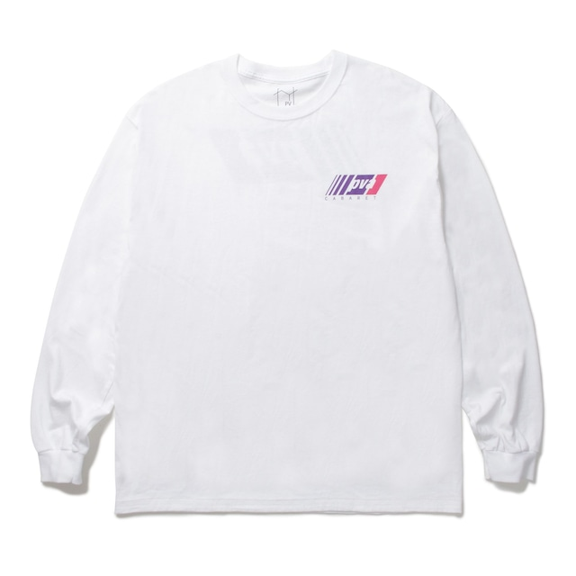 POVAL Durrell L/S TEE WHITE
