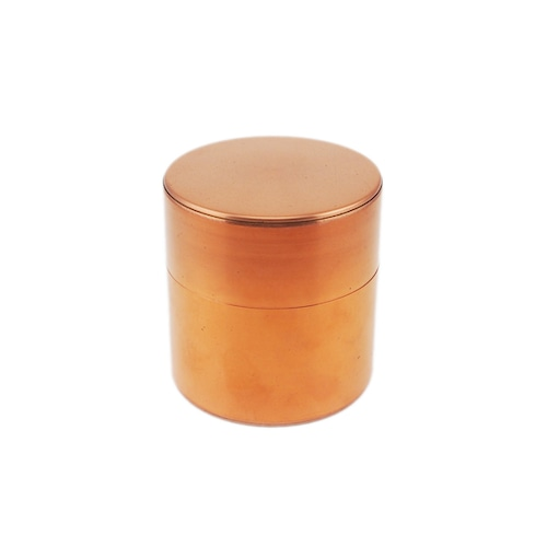 開化堂 茶筒 取込盆用120g 銅