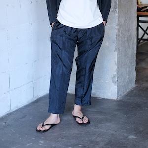 Cropped slacks  [ Black ]