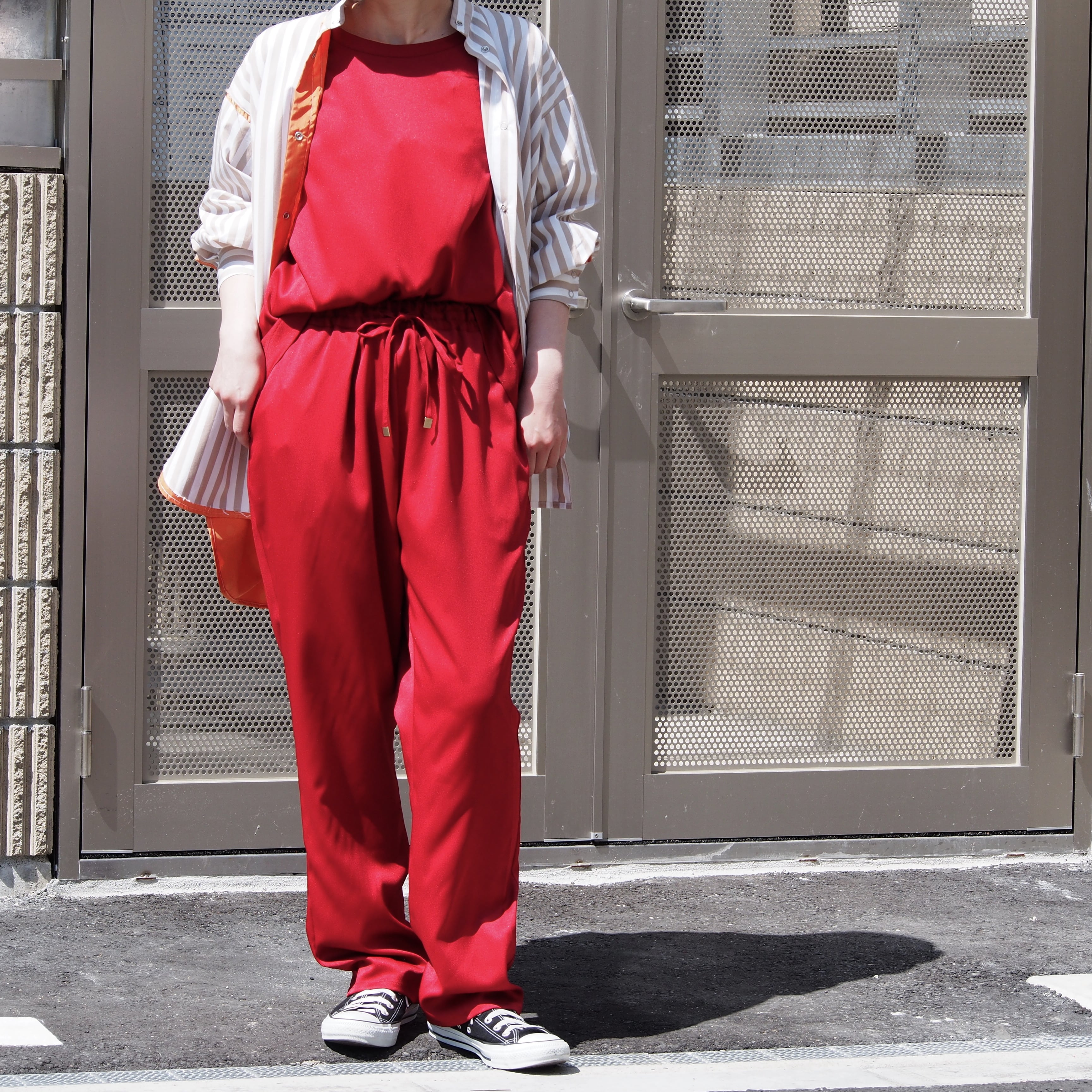 【ethical hippi】tapered pants(antique red) / 【エシカル ヒッピ】テーパード パンツ(アンティーク レッド)