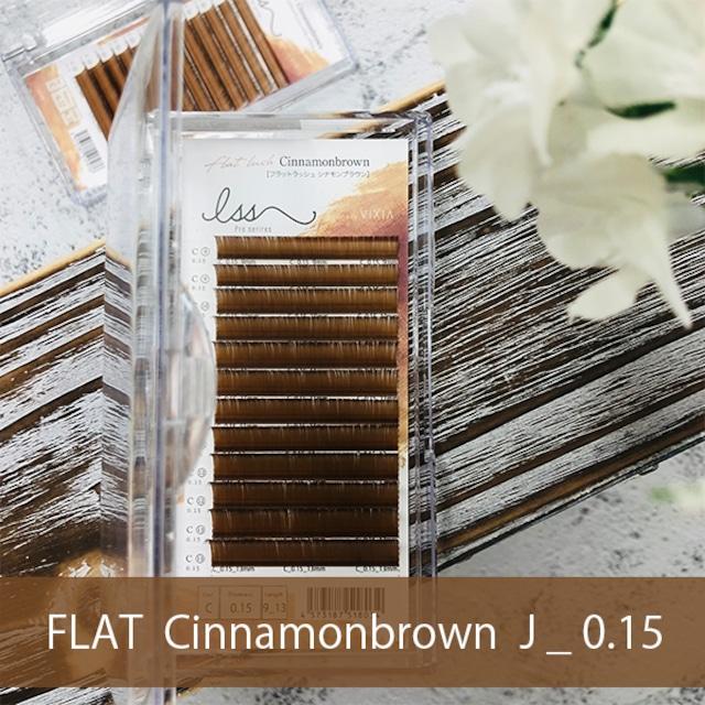 FLAT MAT シナモンブラウン     J_0.15mm