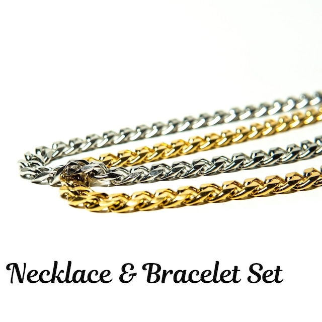 Miami Necklace & Bracelet Set