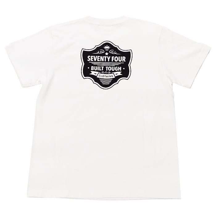 SEVENTY FOUR(セブンティーフォー) / PREMIUM LOGO T-SHIRT(STF21SF3)(Tシャツ)