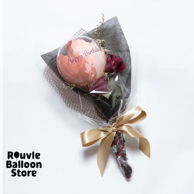 チャンスフラワー Roseブーケ マーブル・Terracotta