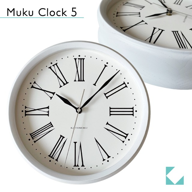 KATOMOKU plywood clock 2 km-42M