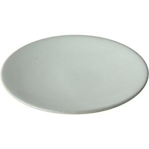 益子焼 つかもと窯 「伝統釉」 プレート 皿 ソーサー 約16cm 糠白釉 KKS-5