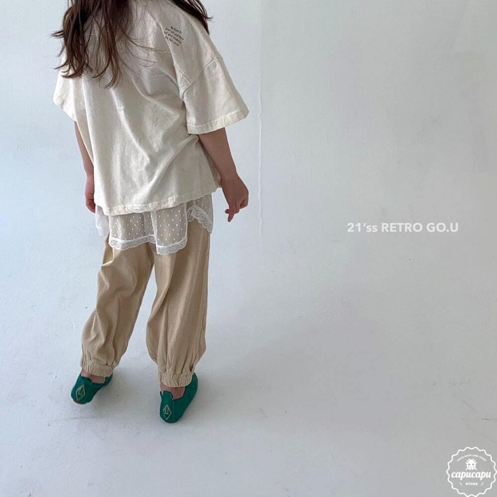 «sold out»«ジュニア» go.u retro T shirts レトロTシャツ ジュニアサイズ