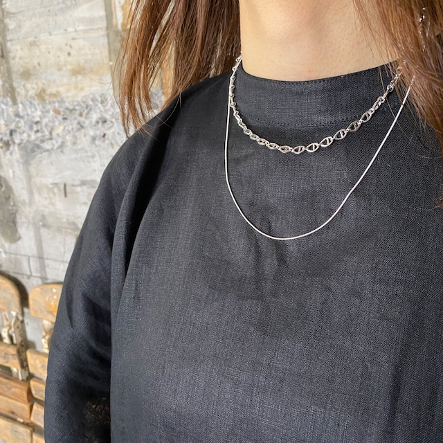 Nothing And Others【ナッシングアンドアザーズ】W Chain Necklace .