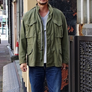 1960s US ARMY M65 Field Jacket / 2nd Edition / M-65 セカンド アルミ 袖マチ