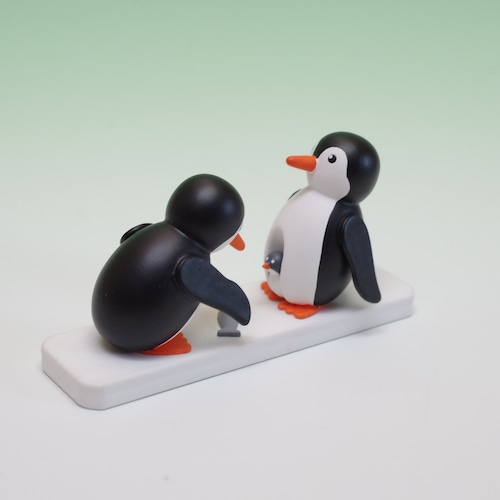 ペンギンのファミリー