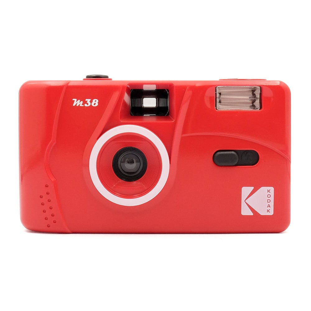 【新発売】KODAK M38 コダック レトロフィルムカメラ【フレイムスカーレット】