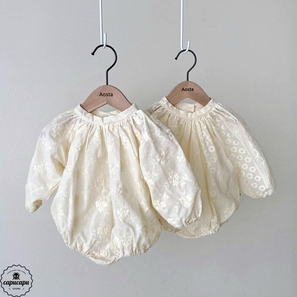 «sold out»«bebe» Rachel babysuit 2 types ベビーボディスーツ