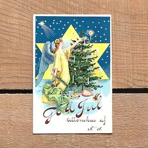クリスマスカード「作者不明」《210208-01》
