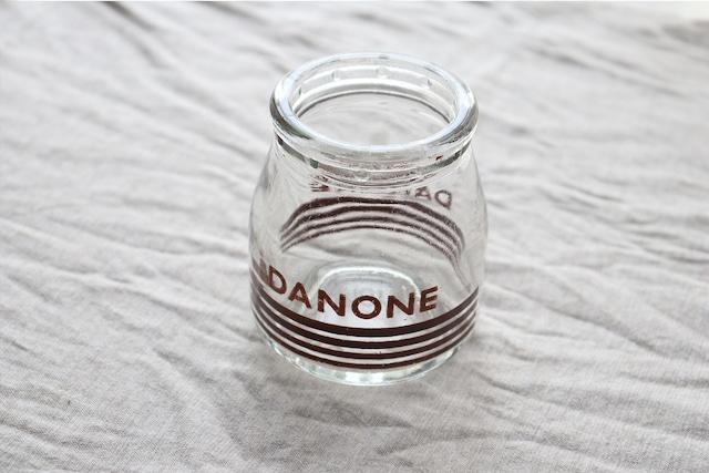 【DANONE/ダノン】ヨーグルトポット/1960年代