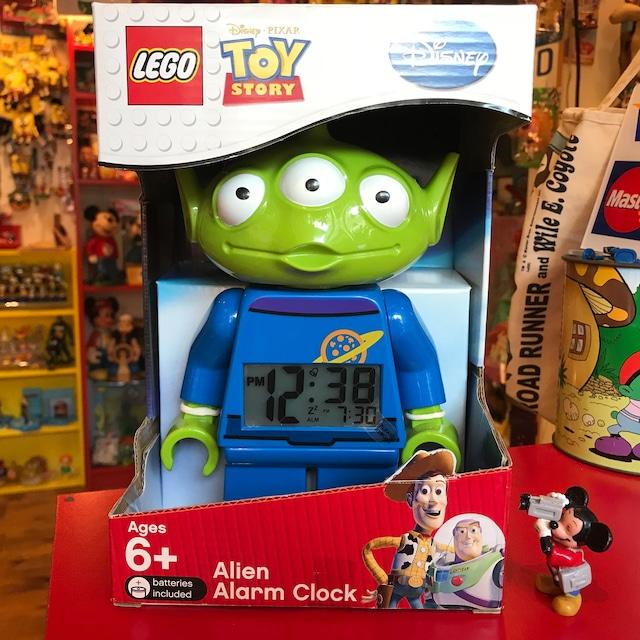 LEGO×トイストーリー コラボ エイリアン アラームクロック 目覚まし時計