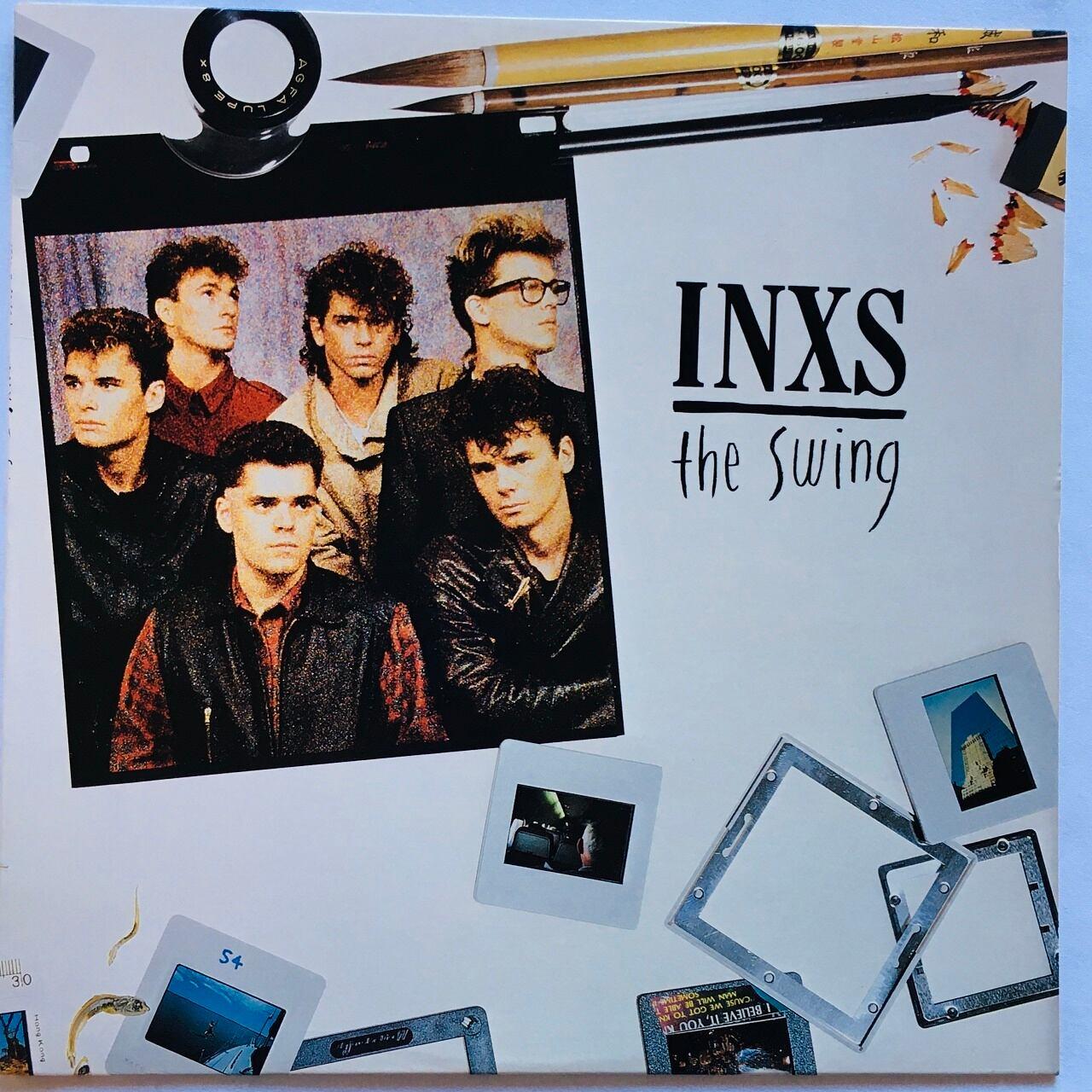 【LP・米盤】INXS  /  The Swing