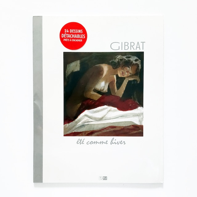 切り離し画集「Eté comme Hiver」バンドデシネ作家Jean-Pierre Gibrat