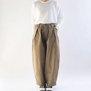 【HARVESTY】CHINO CIRCUS PANTS (KHAKI BEIGE) (UNISEX) サーカスパンツ ユニセックス 日本製 ハーベスティ
