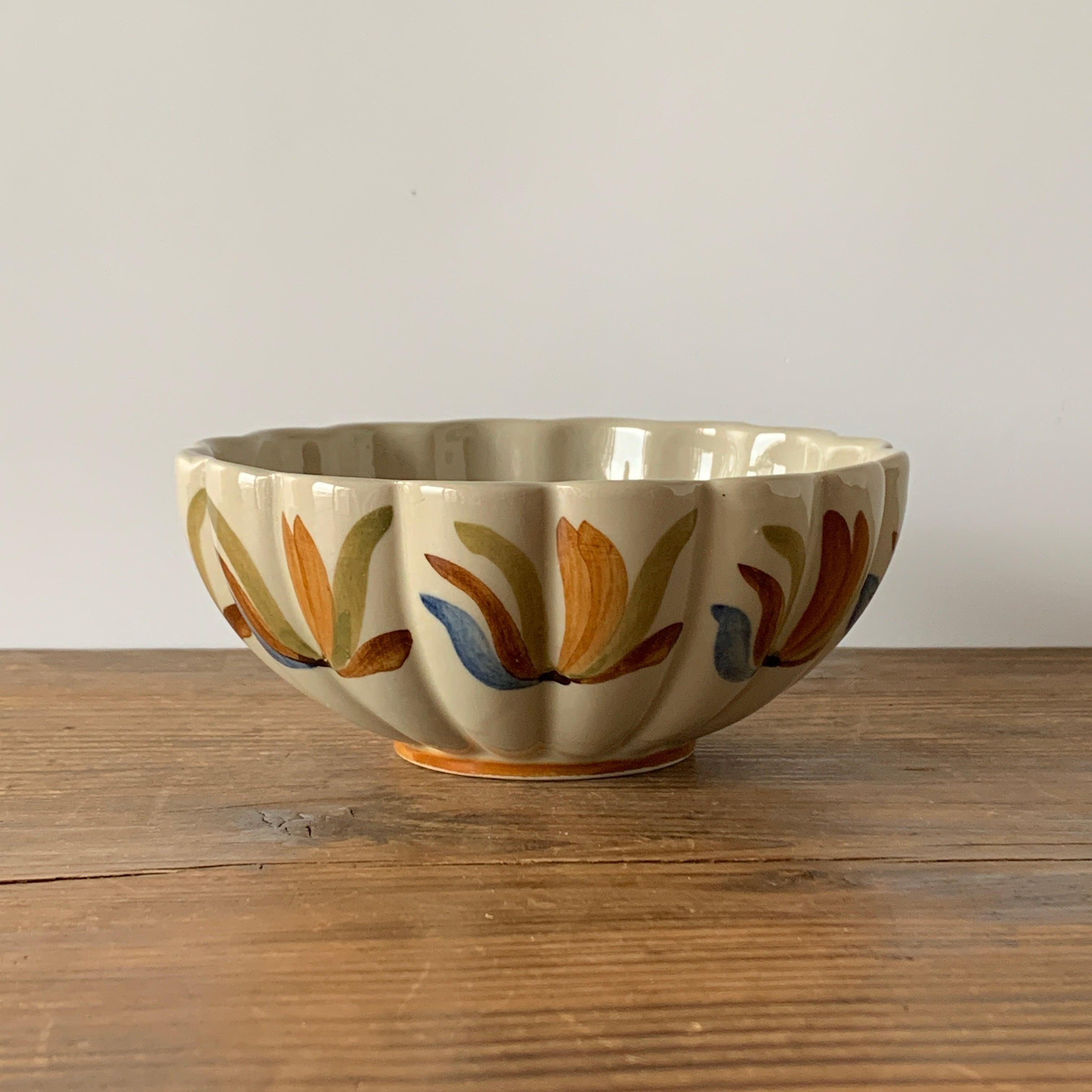 ARABIA / Hand Painted Bowl