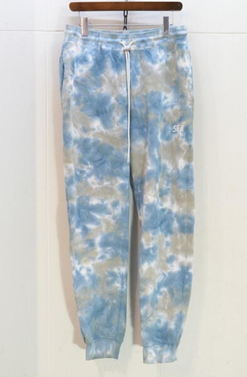 WIND AND SEA tie-dye スウェットパンツ