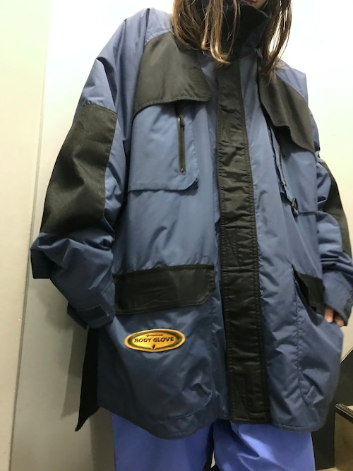 90's Body Glove 中綿ナイロンジャケット