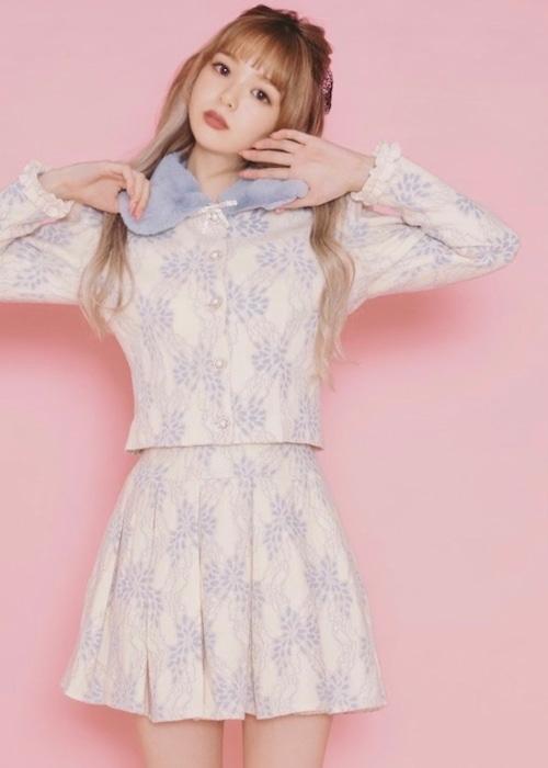 【ManonMimie】Lace Wool Set-Up