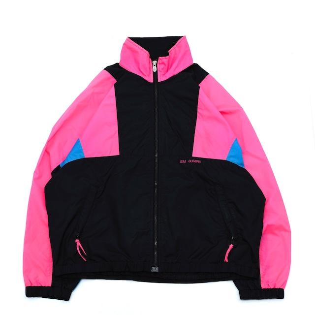 90's JC.Penny track jacket olympic model