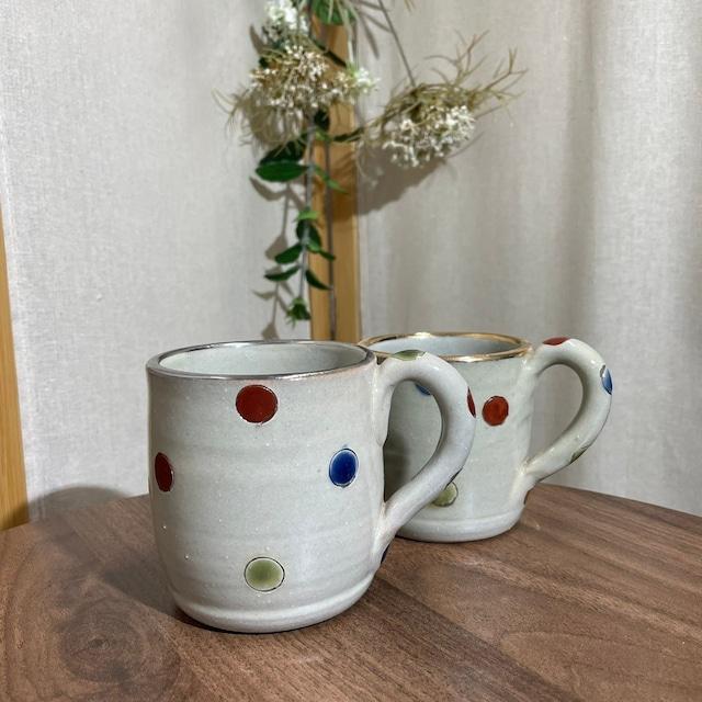 水玉日和 マグカップ