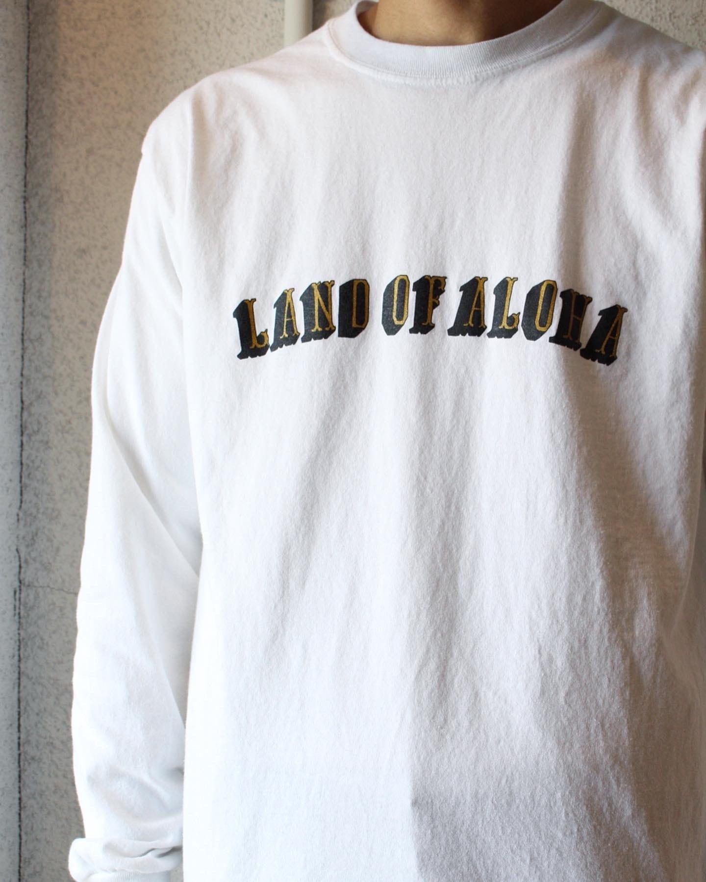 FUNG(ファング) / Print  L/S T-Shirts(プリント L/S Tシャツ)LAND OF ALOHA