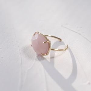 RING || 【通常商品】 SWEET CANDY RING (KASUMI PINK×GOLD) || 1 RING || GOLD×KASUMI PINK || FBA037
