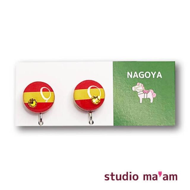 ■NAGOYA-04  イヤリング。まる。〜ピアス変更可〜