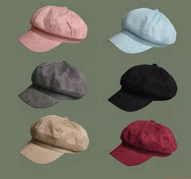 color casquette 6color