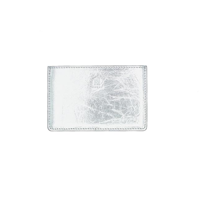 《名刺入れ》TIN BREATH Business card case single Silver