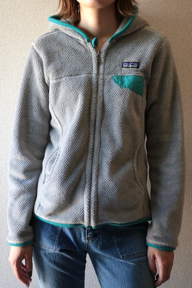 patagonia Re-tool fleece full zip hoodie