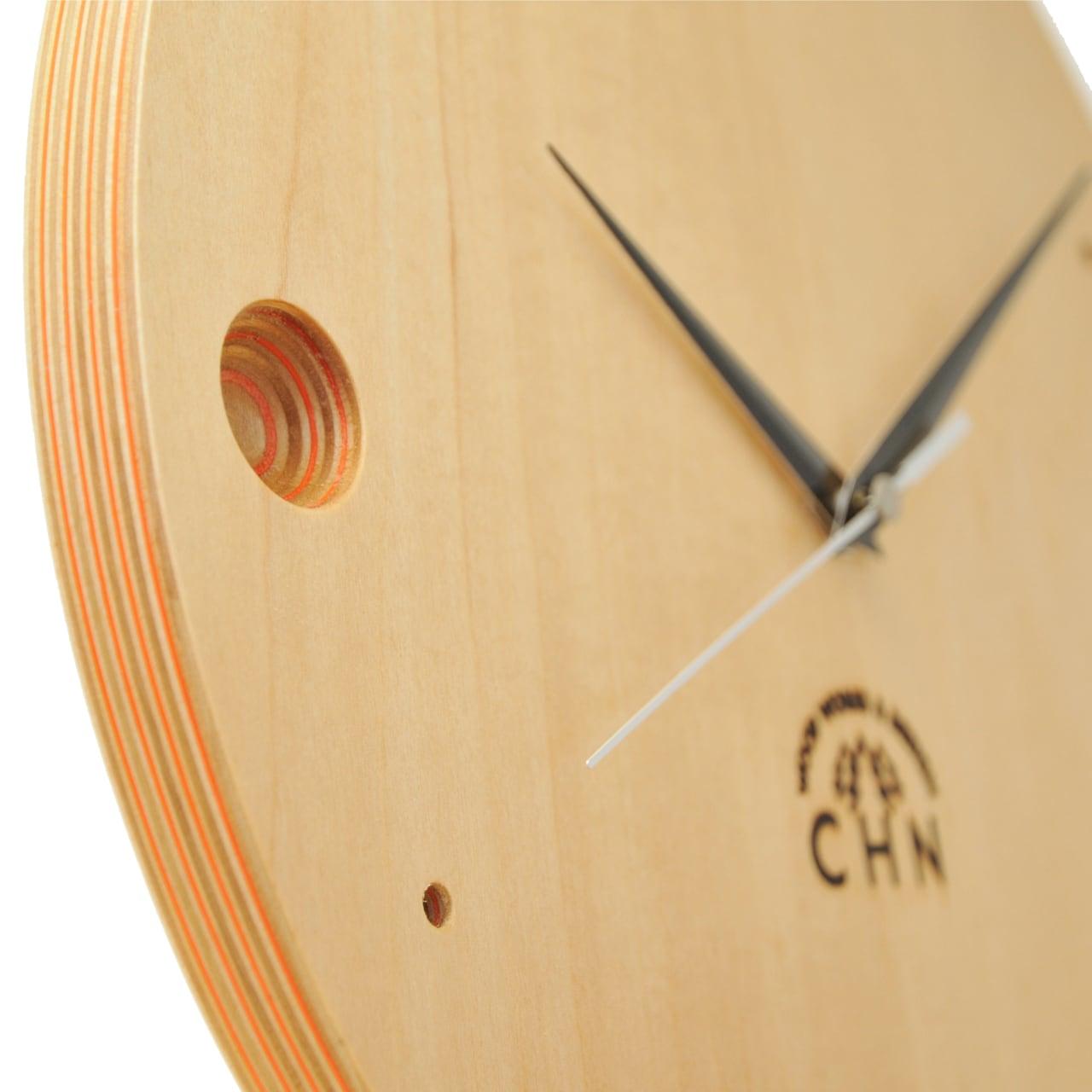 paper-wood clock (L)
