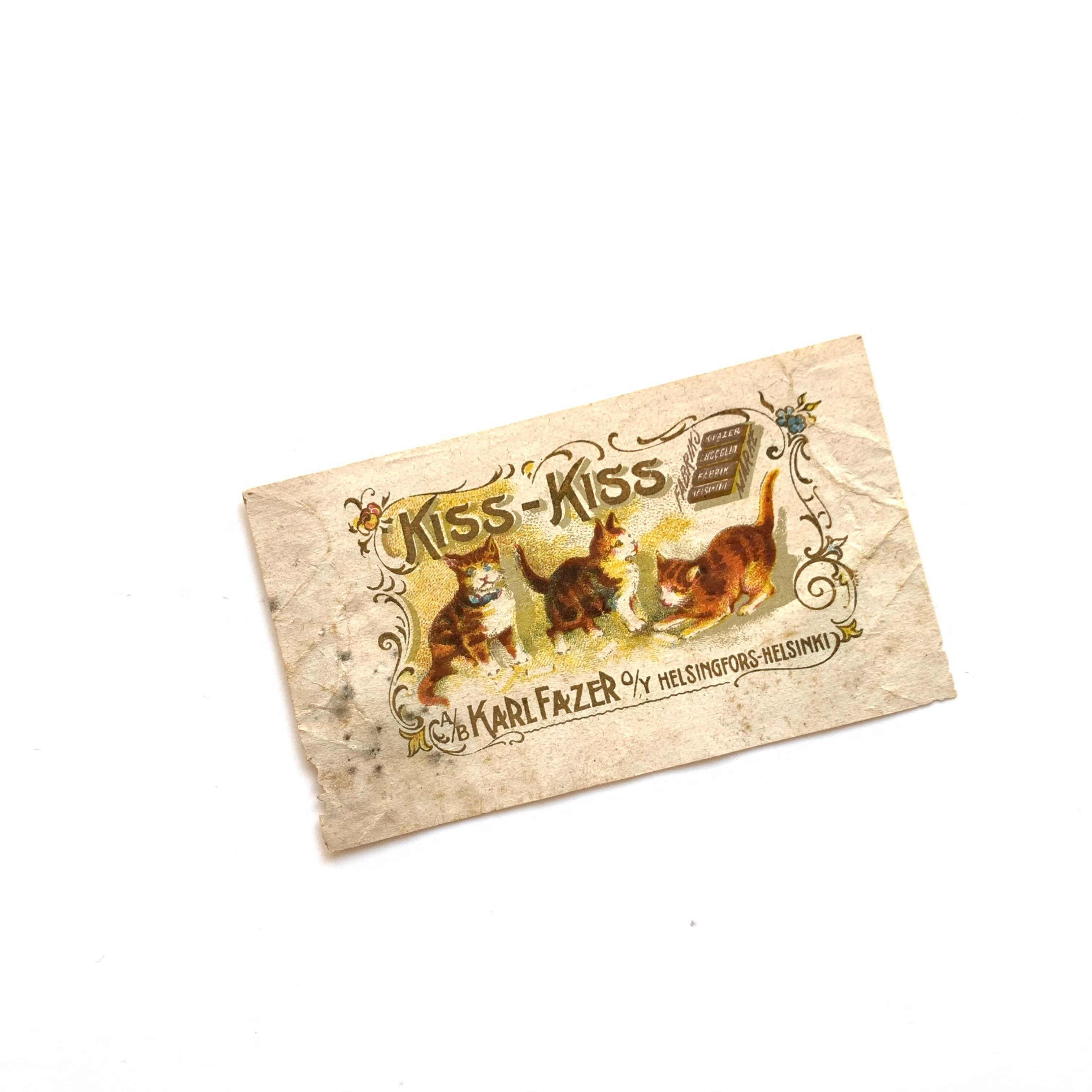 FAZER / vintage candy wrapper[KISS KISS]