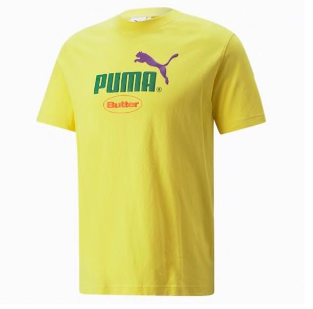 PUMA x BUTTER GOODS Graphic Tee Yellow