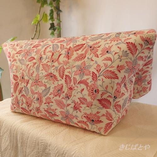 和裁士さんが考えたバッグインバッグ フラミンゴ色の更紗