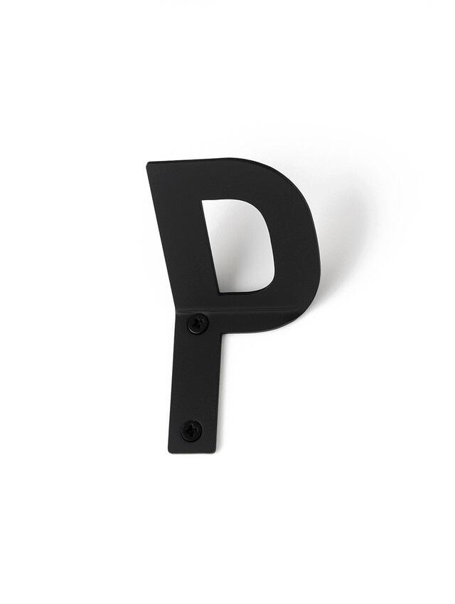 LETTER HOOK  P フック 壁掛け サイン 英文字 アルファベット