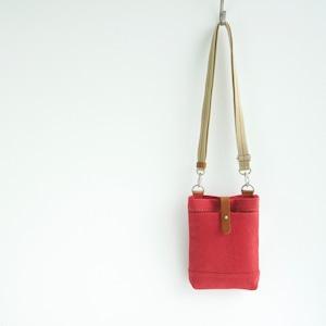 CANVAS CHALK BAG / RED