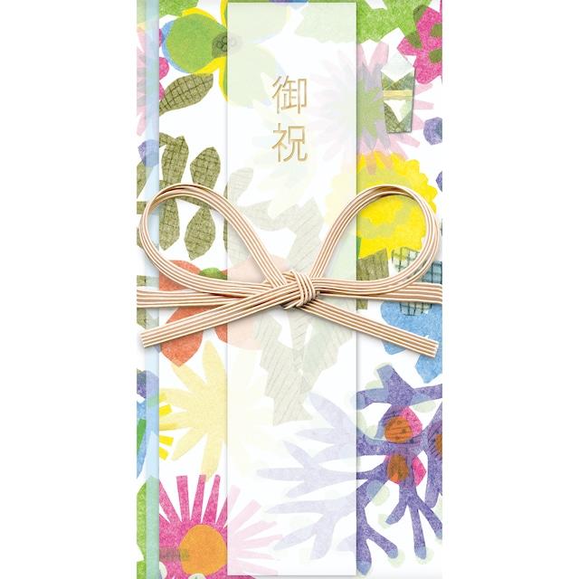 ひびのこづえ 祝儀袋HANA / FLOWERS 花結び お礼・ご挨拶・記念・行事用 POL104