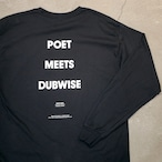 SILENT POETS / LONG SLEEVE T-SHIRTS(POET MEETS DUBWISE)